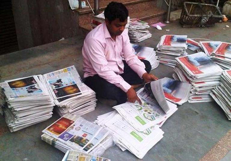Image result for Newspaper distribution